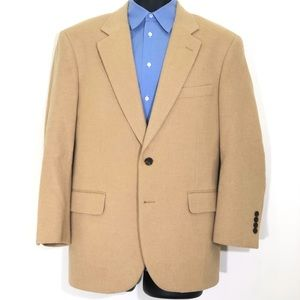 Brooks Brothers Camelhair 2 Button Sport Coat